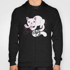 White Cat Hoody