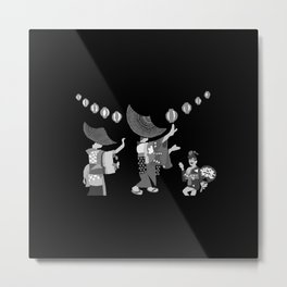 Summer Festival in Japan Metal Print