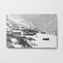 High Camp, The Himalayas, Nepal Metal Print