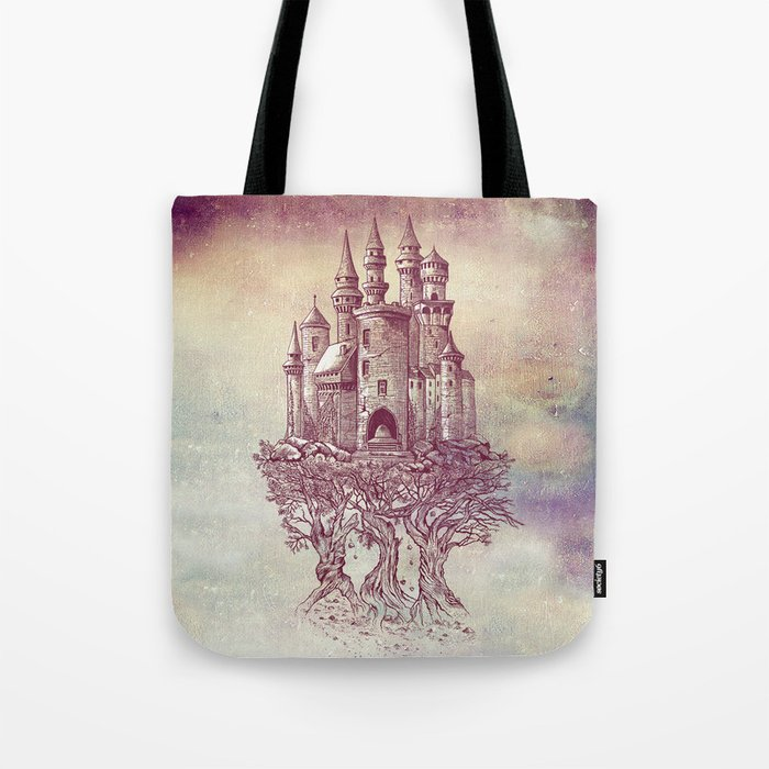 Castle in the Trees Tote Bag