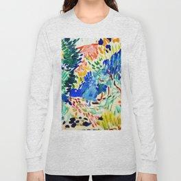 Henri Matisse Landscape at Collioure Long Sleeve T-shirt