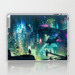 Cyberpunk City Laptop & iPad Skin
