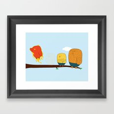 The Fantastic Four Framed Art Print