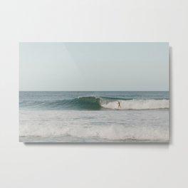 surf at pipeline- north shore oahu Metal Print