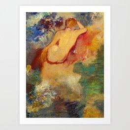 "Odilon Redon ""Naissance de Vénus"" Art Print"
