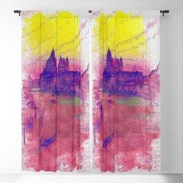 Venezia Canal Grande - SKETCH-ART Blackout Curtain