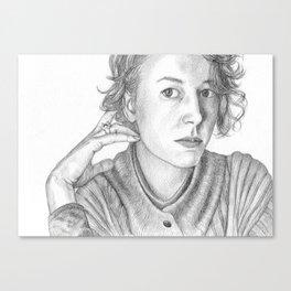 Portrait of a Woman Canvas Print