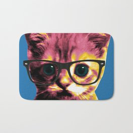 Pop Art Cat Bath Mat