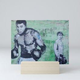 Raging Ali Mini Art Print