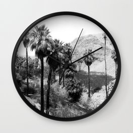 Palm Canyon near Palm Springs c.1901 Wall Clock