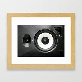 Loudspeaker Framed Art Print