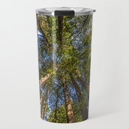 Coastal Redwoods aka Coast Redwood and California Redwood (Sequoia sempervirens) Travel Mug