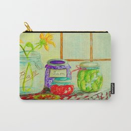 Kitchen Light Dancing Carry-All Pouch