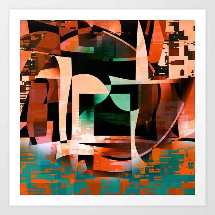Tempe Art Print