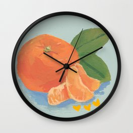 Satsuma Wall Clock