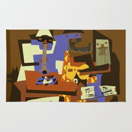 Picasso - The Musician Rug
