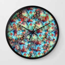 Worldly Dimension Wall Clock