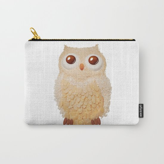 Owl Collage #5 Carry-All Pouch