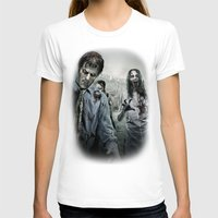 walking dead T-shirts featuring Zombie by Joe Roberts