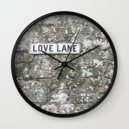 Love Lane Wall Clock