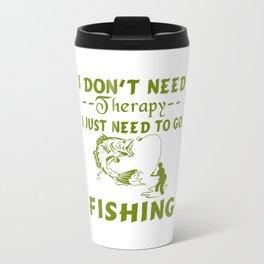 GO FISHING Travel Mug