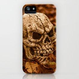 Halloween Skull 2 iPhone Case