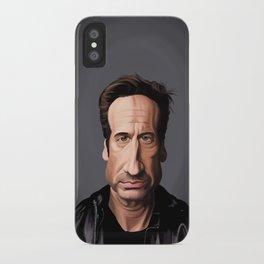 Celebrity Sunday ~ David Duchovny iPhone Case