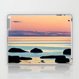 Circle of Rocks and the Sea at Dusk Laptop & iPad Skin
