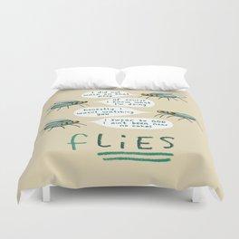 fLIES Duvet Cover