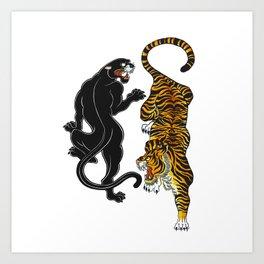Big Cats Art Print