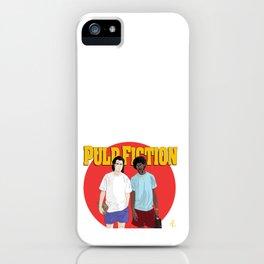 Pulp Fiction - Vincent & Jules iPhone Case