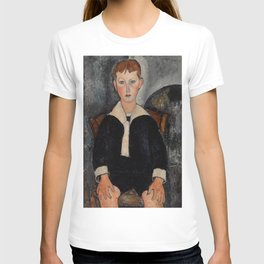 "Amedeo Modigliani ""Boy in Sailor Suit"" T-shirt"
