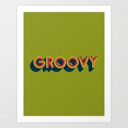 Groovy Kunstdrucke