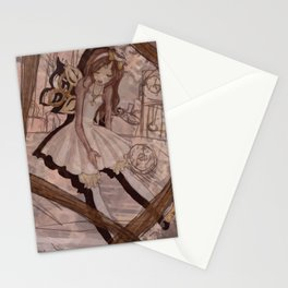 Windup Doll Stationery Cards