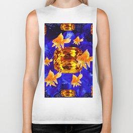 Surreal Goldfish Gems  Dreamscape Biker Tank
