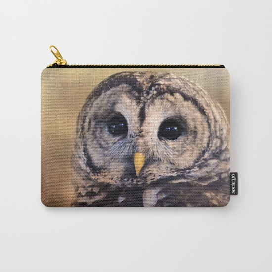 The Wise Owl Carry-All Pouch