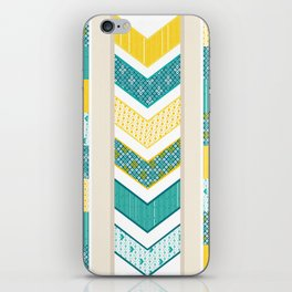 Sunshine Chevron iPhone Skin