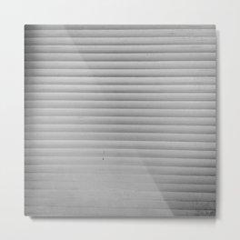 Estudio sobre blanco (ahora no me ves). Metal Print