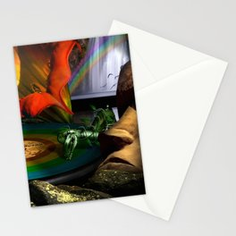 The four seasons Stationery Cards