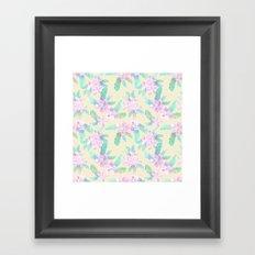 Tahitian Garden {I} Framed Art Print