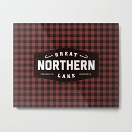 Great Northern Lake Metal Print