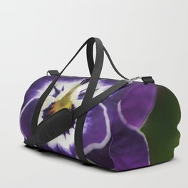 Flowered Heart Duffle Bag