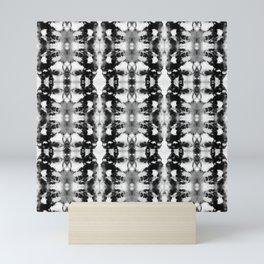 Tie-Dye Blacks & Whites Mini Art Print