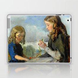 "John Everett Millais ""The Garland Weavers"" Laptop & iPad Skin"