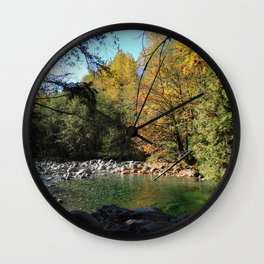 relax here Wall Clock