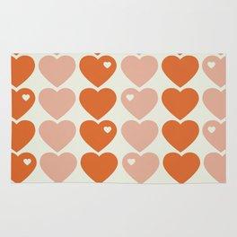 Bubblegum Hearts Rug