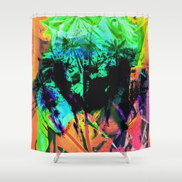 Tropical Madness Shower Curtain