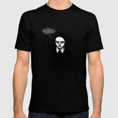 Happy Wednesday! LARGE Mens Fitted Tee Black