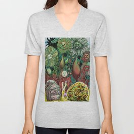 The case of The Wrong Feed On The Ol' Snail Trail... Unisex V-Neck