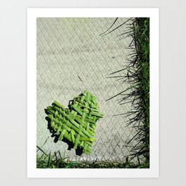 I Heart Nature Art Print